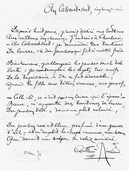 Souvent Arthur Rimbaud EP27